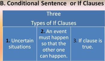 types-if clauses