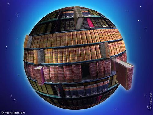 El mundo es una biblioteca
